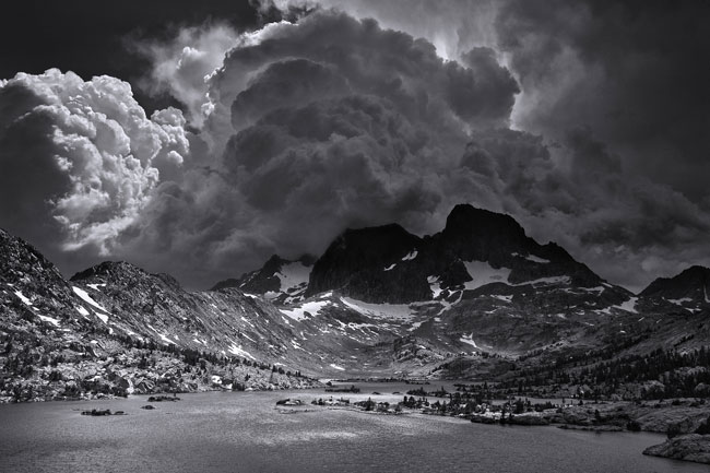 Famed landscape photographer ansel adams